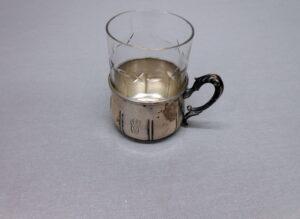 Teelasin pidike K10,5 cm lasin kanssa. J.S 813H X5